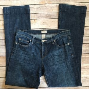 GAP long and lean narrow straight leg jeans